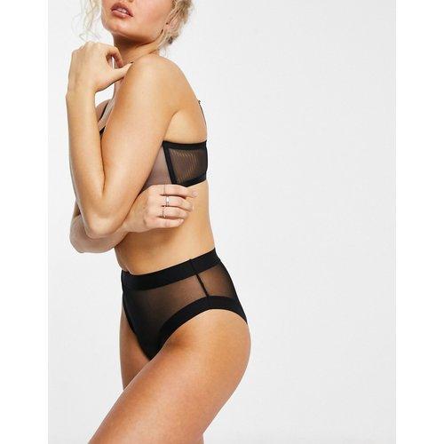 Mix & Match - Dina - Culotte taille haute en tulle - Noir - ASOS DESIGN - Modalova