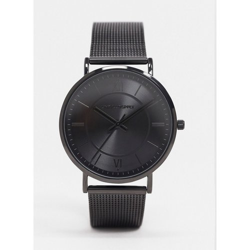 - Montre avec bracelet maille en acier inoxydable - ASOS DESIGN - Modalova