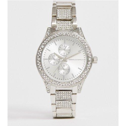 Montre-bracelet à cristaux - ASOS DESIGN - Modalova
