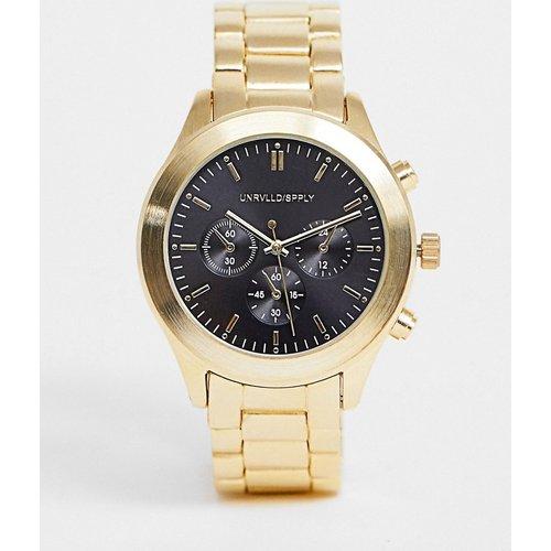 Montre-bracelet avec cadran noir - ASOS DESIGN - Modalova