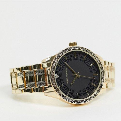 Montre bracelet avec motif vague grecque - ASOS DESIGN - Modalova