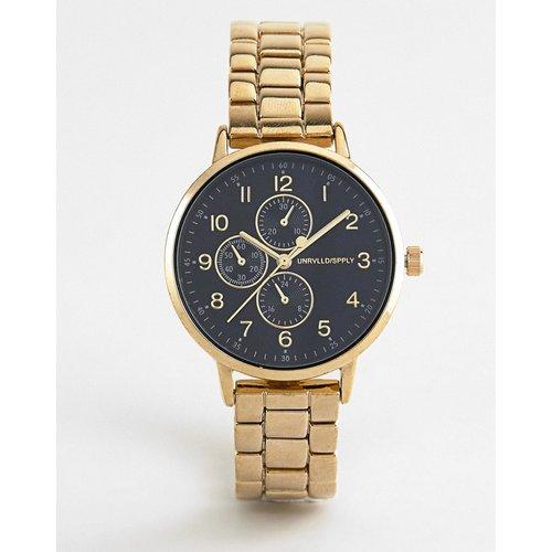 Montre-bracelet fine avec sous-cadrans - ASOS DESIGN - Modalova