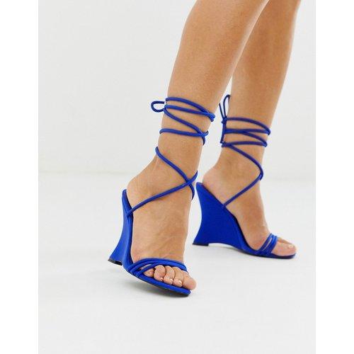Nelly - Chaussures compensées minimalistes - cobalt - ASOS DESIGN - Modalova