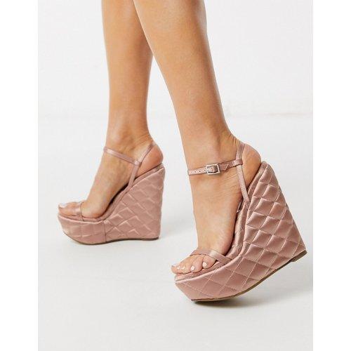 Nifty - Chaussures compensées matelassées - ASOS DESIGN - Modalova