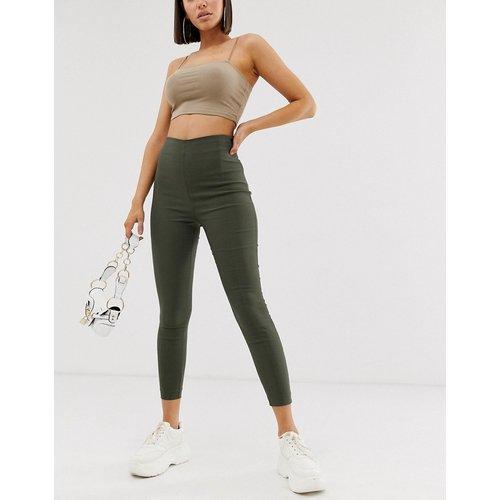 Pantalon ajusté à taille haute - ASOS DESIGN - Modalova