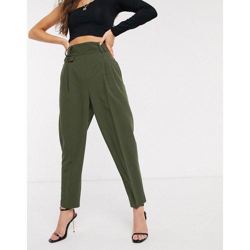 Pantalon bouffant ajusté taille haute - ASOS DESIGN - Modalova