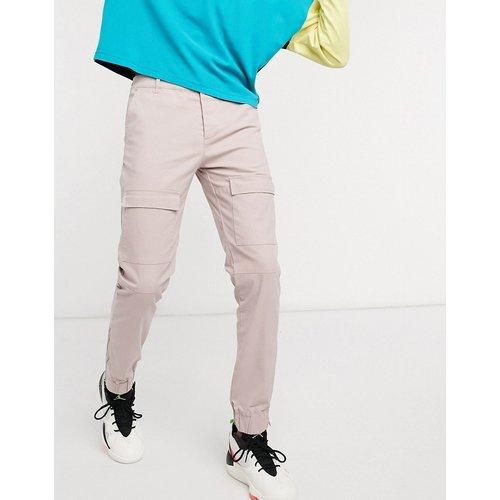 Pantalon cargo coupe slim avec fermeture éclair aux chevilles - ASOS DESIGN - Modalova