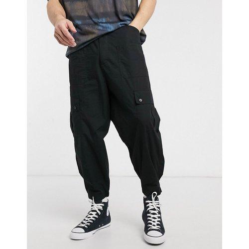 Pantalon cargo large - ASOS DESIGN - Modalova