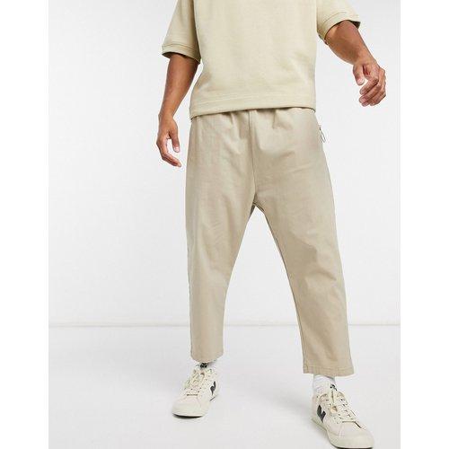 Pantalon chino à entrejambe bas - ASOS DESIGN - Modalova