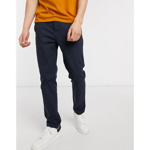 Pantalon chino ajusté - Bleu marine - ASOS DESIGN - Modalova