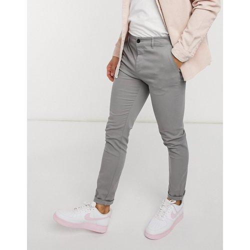 Pantalon chino ajusté - clair - ASOS DESIGN - Modalova