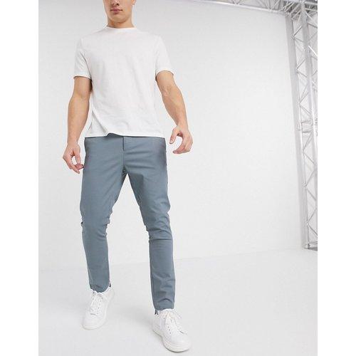 Pantalon chino ajusté longueur cheville - délavé - ASOS DESIGN - Modalova