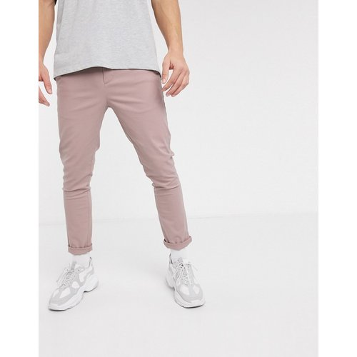 Pantalon chino ajusté - chaud - ASOS DESIGN - Modalova