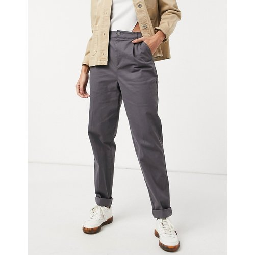 Pantalon chino - Anthracite - ASOS DESIGN - Modalova