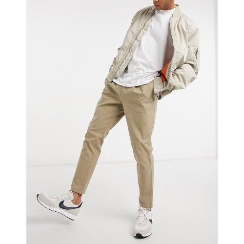 Pantalon chino coupe cigarette - ASOS DESIGN - Modalova