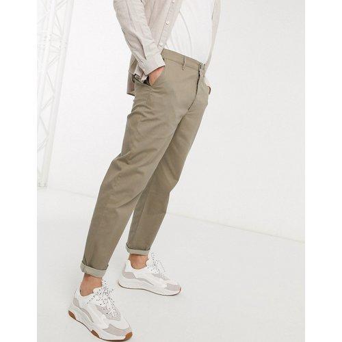 Pantalon chino décontracté style skateur - Taupe - ASOS DESIGN - Modalova