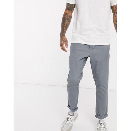 Pantalon chino fuselé - foncé - ASOS DESIGN - Modalova