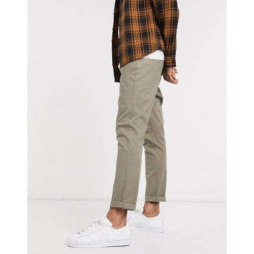 Pantalon chino fuselé - Kaki clair - ASOS DESIGN - Modalova