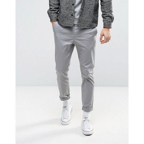 Pantalon chino slim - clair - ASOS DESIGN - Modalova