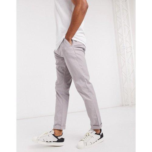 Pantalon chino slim - Lilas - ASOS DESIGN - Modalova