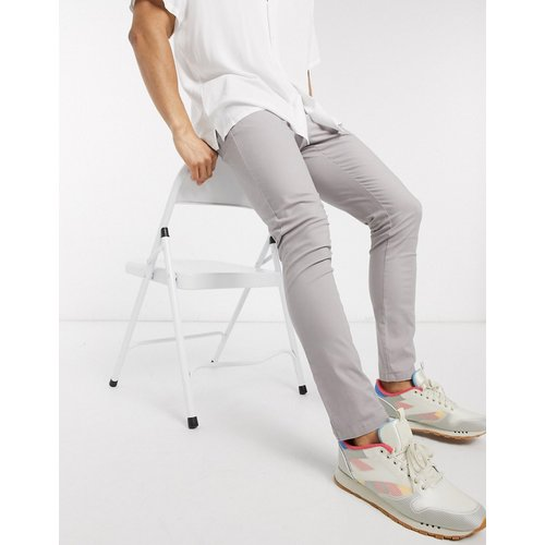Pantalon chino super ajusté - Lilas - ASOS DESIGN - Modalova