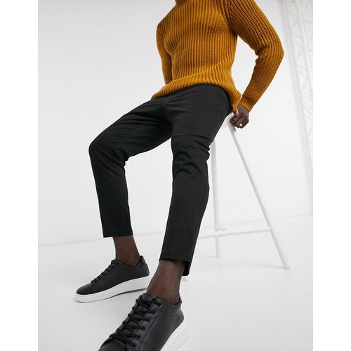 Pantalon chino taille haute coupe cigarette - ASOS DESIGN - Modalova