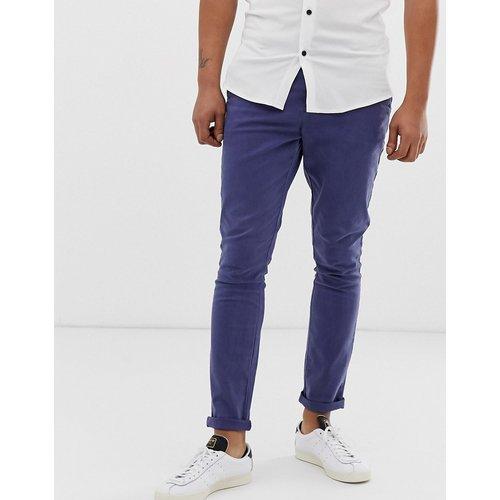 Pantalon chino ultra ajusté - délavé - ASOS DESIGN - Modalova