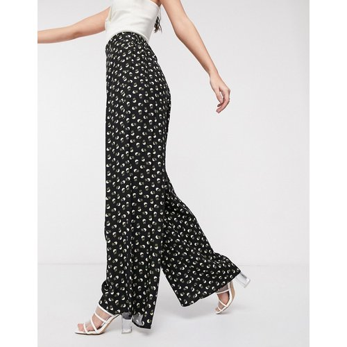 Pantalon coupe large à petites fleurs - ASOS DESIGN - Modalova