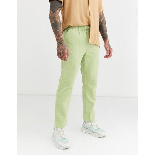 Pantalon coupe slim en velours côtelé - clair - ASOS DESIGN - Modalova