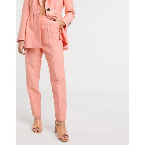Pantalon de costume ajusté - Pêche - ASOS DESIGN - Modalova