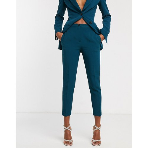 Pantalon de costume coupe slim - Bleu sarcelle - ASOS DESIGN - Modalova