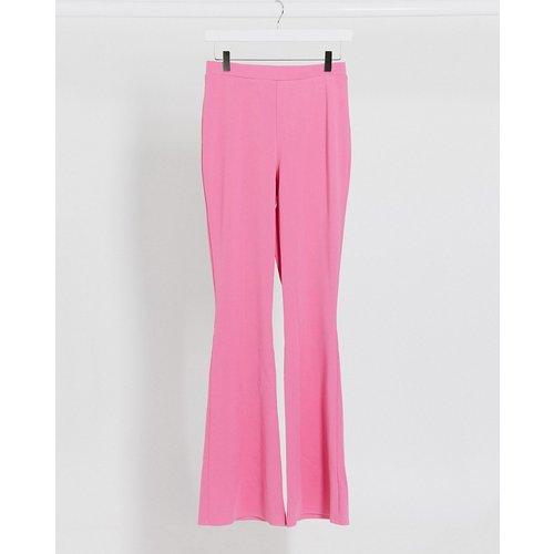 Pantalon de costume évasé en jersey - ASOS DESIGN - Modalova