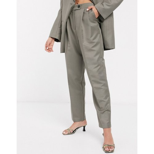 Pantalon de costume extreme dad - Anthracite - ASOS DESIGN - Modalova