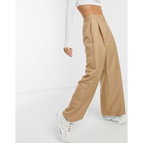 Pantalon de costume large coupe dad - Fauve - ASOS DESIGN - Modalova