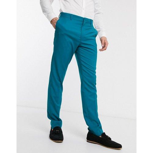 Pantalon de costume slim - sarcelle - ASOS DESIGN - Modalova