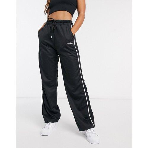 Pantalon de jogging droit en maille - ASOS DESIGN - Modalova