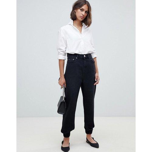 Pantalon de jogging en jean - délavé - ASOS DESIGN - Modalova