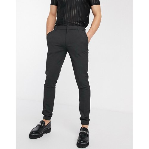 Pantalon de jogging habillé super slim - Anthracite - ASOS DESIGN - Modalova