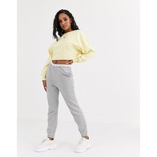Pantalon de jogging ultra-doux avec taille à rabat - ASOS DESIGN - Modalova