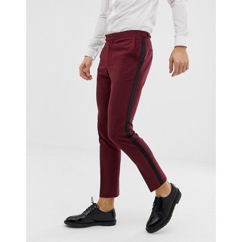 Pantalon de smoking de bal de promo coupe skinny - Prune - ASOS DESIGN - Modalova