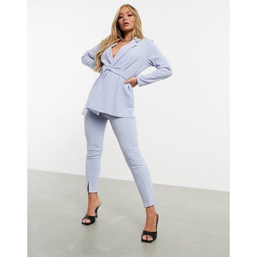 Pantalon de tailleur slim en jersey - pâle - ASOS DESIGN - Modalova