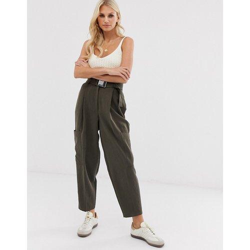 Pantalon fuselé avec ceinture - ASOS DESIGN - Modalova