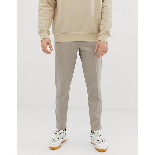 Pantalon habillé slim en coton - ASOS DESIGN - Modalova