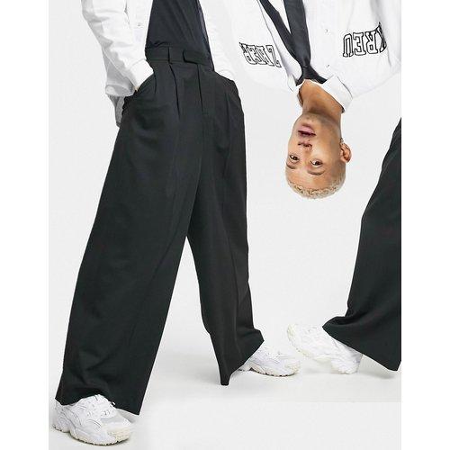 Pantalon habillé taille haute ultra large - ASOS DESIGN - Modalova