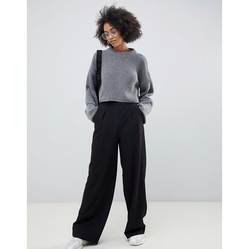 Pantalon large à pinces - ASOS DESIGN - Modalova