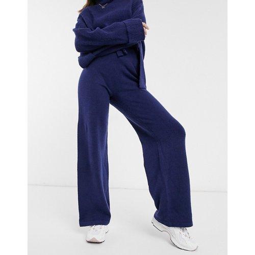 Pantalon large d'ensemble en maille avec cordon de serrage à la taille - ASOS DESIGN - Modalova