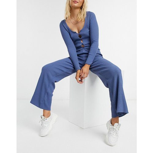 Pantalon large d'ensemble en maille - ASOS DESIGN - Modalova