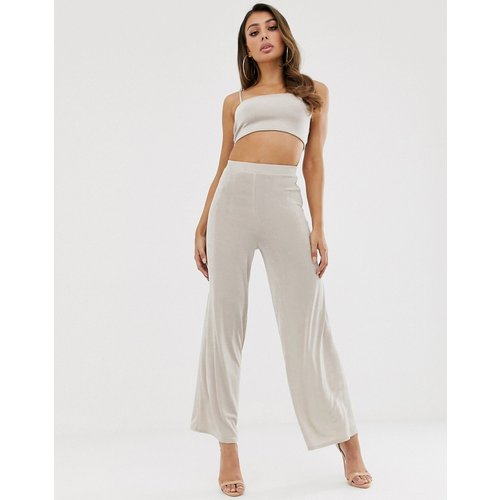 Pantalon large en tissu près du corps (ensemble) - ASOS DESIGN - Modalova