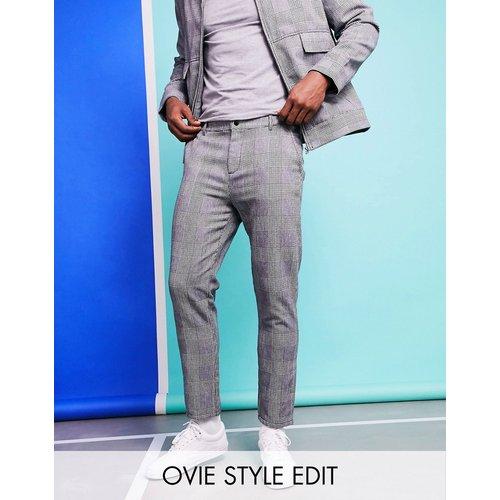 Pantalon slim à carreaux (ensemble) - ASOS DESIGN - Modalova