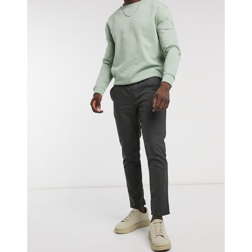 Pantalon slim aspect laine - ASOS DESIGN - Modalova